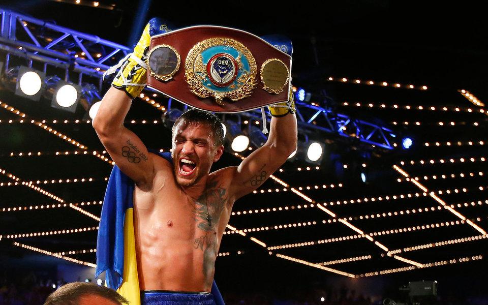 HBO также признал Ломаченко лучшим боксером 2017 года