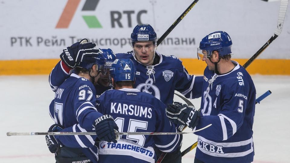 «Динамо» нанесло «Салавату» пятое поражение подряд