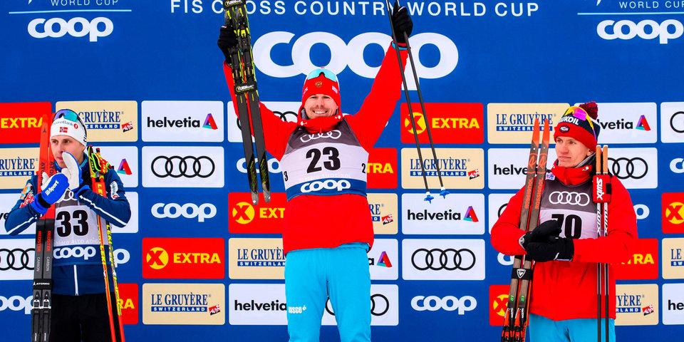 Золотой дубль! Устюгову и Непряевой не было равных на «Тур де Ски»