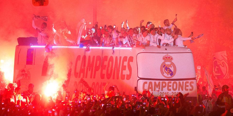 «Пике, сволочь, встречай чемпионов». Праздничная ночь в Мадриде