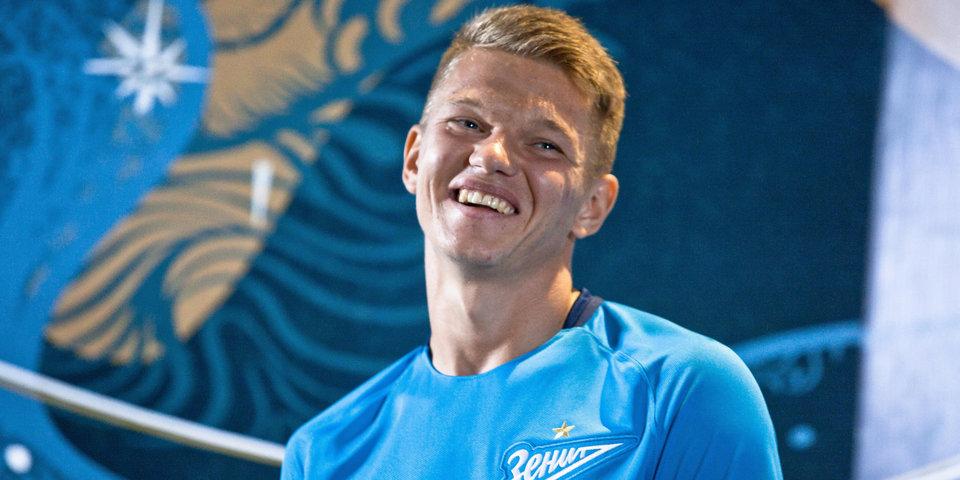 Шатов показал самую высокую скорость в матче «Енисей» – «Зенит»