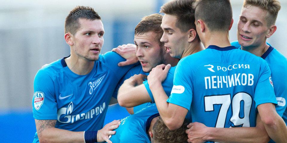 «Зенит-2» и «Кубань» забили 6 голов на двоих