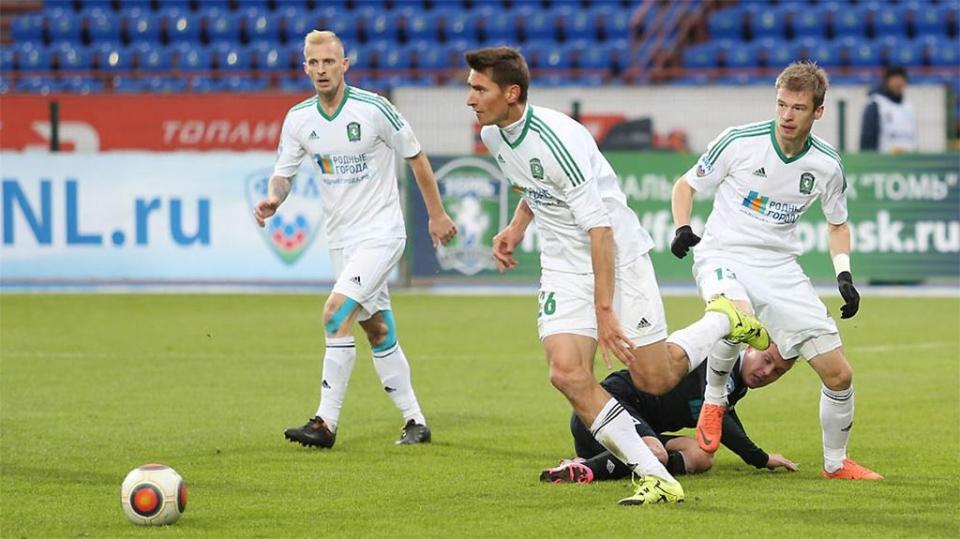 «Томь» на своем поле потерпела первое поражение в сезоне в ФНЛ