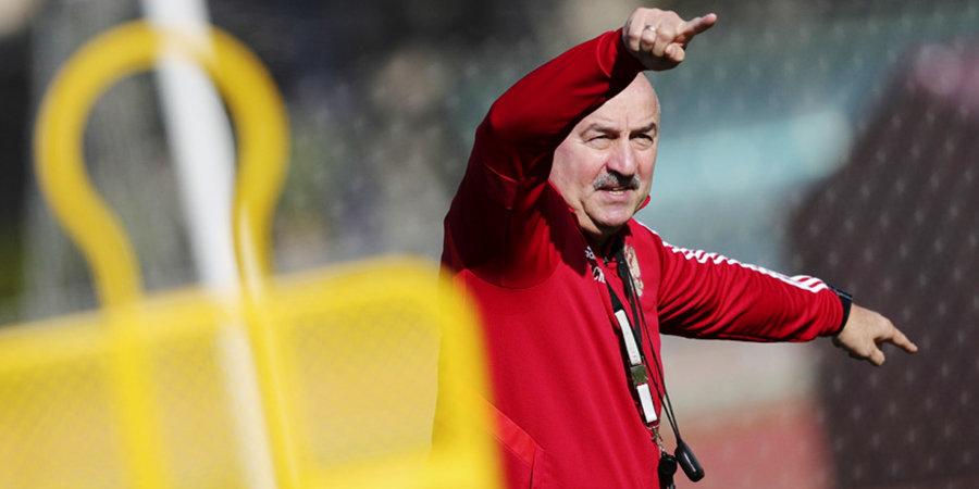 Черчесов объяснил, почему не выпустил на поле новичков сборной