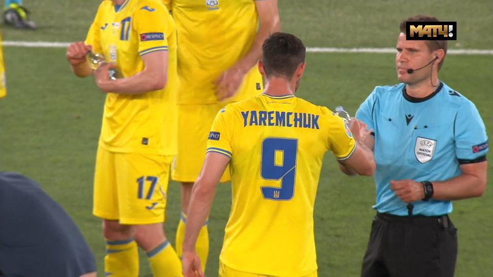 Болельщики раскритиковали арбитра матча Англия — Украина за нарушение антиковидных мер