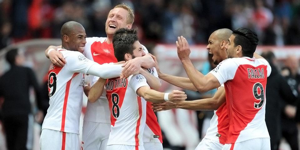 «Монако» продлил беспроигрышную серию до 14 матчей подряд, обыграв «Страсбур»