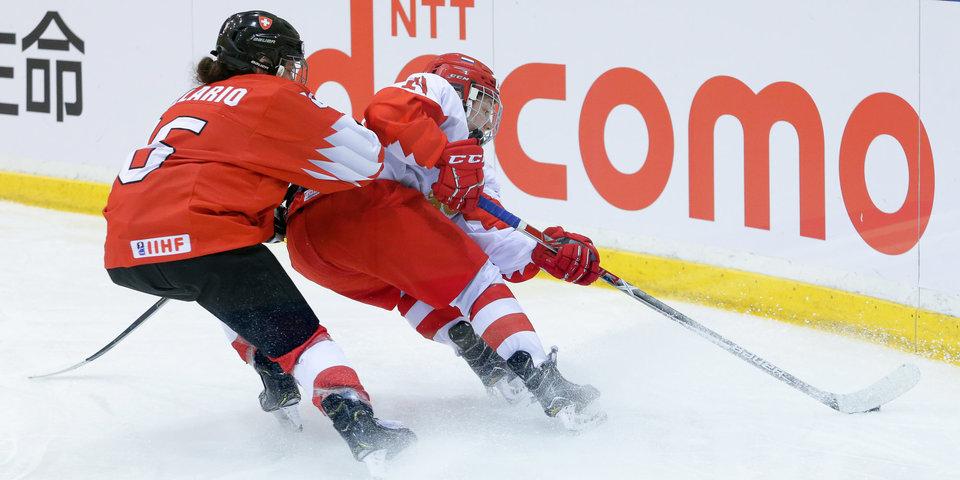 Женская сборная Российской Федерации похоккею невышла вфинал молодёжногоЧМ