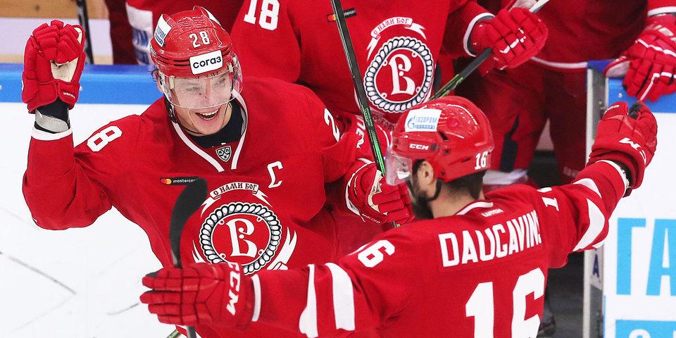 «Витязь» победил «Локомотив» и прервал серию из семи поражений в КХЛ