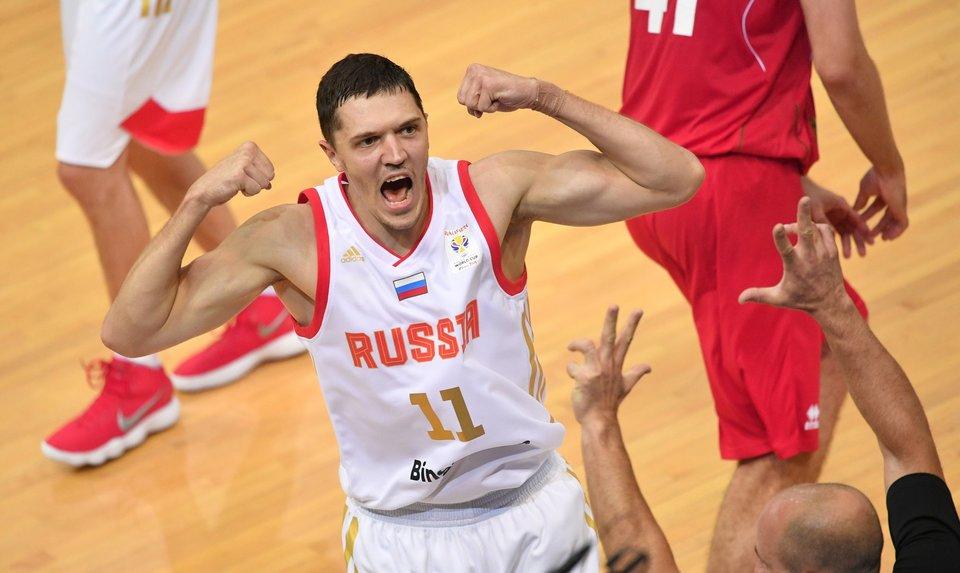 Семен Антонов: «Все воодушевлены возможностью сыграть на чемпионате мира»