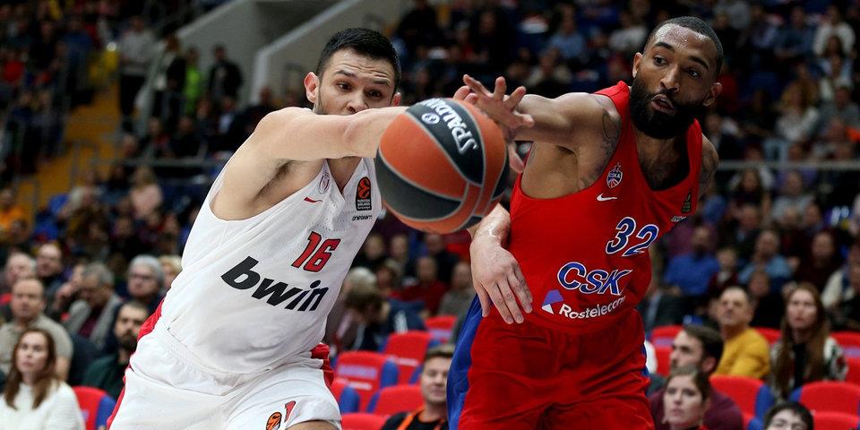 Баскетбольный ЦСКА проиграл – в отличие от футбольного. Это первое поражение армейцев в Евролиге