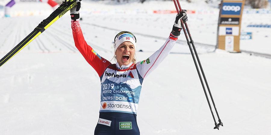 Йохауг в пятый раз в карьере выиграла марафон на ЧМ, Сорина — в десятке, Кирпиченко помешало падение. Как это было