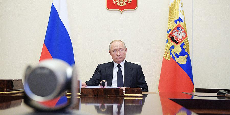 Владимир Путин высказался о прохождении пика эпидемии коронавируса в России. Пандемия и спорт: онлайн «Матч ТВ»