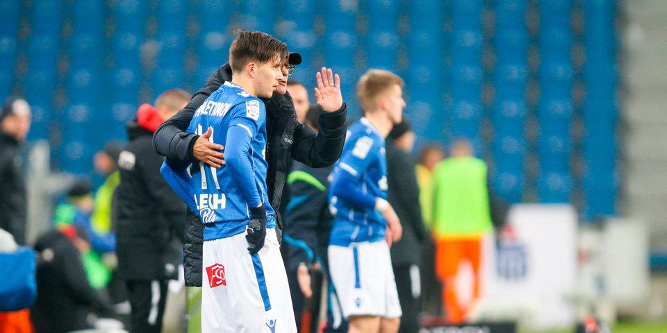 Жамалетдинов впервые забил за «Лех»