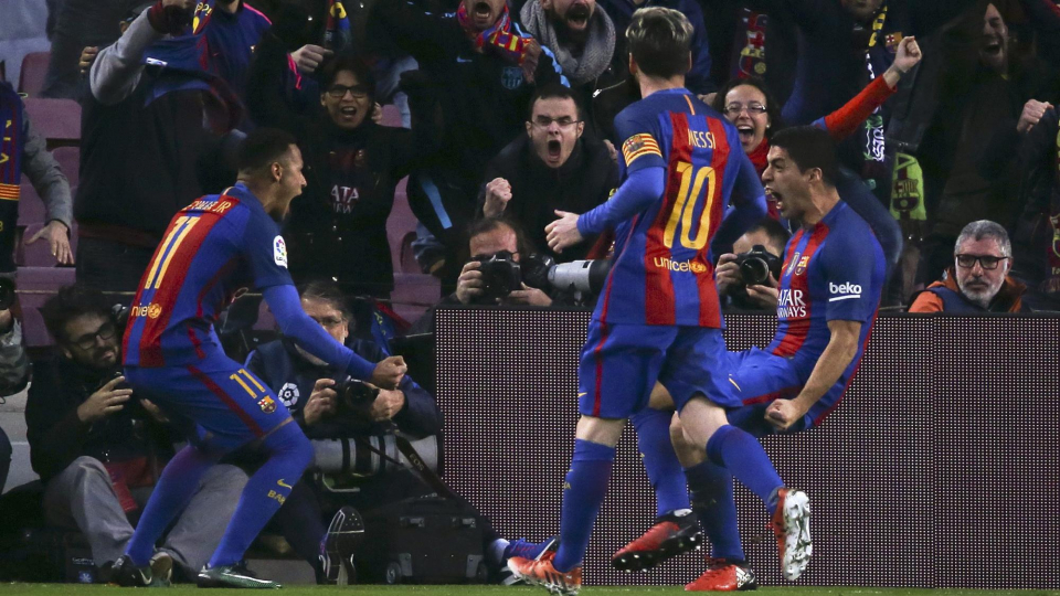 «Барселона» отправила шесть мячей в ворота «Спортинга»