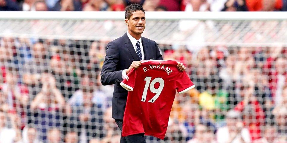 Рафаэль Варан: «Рад, что Роналду играет за «Манчестер Юнайтед»