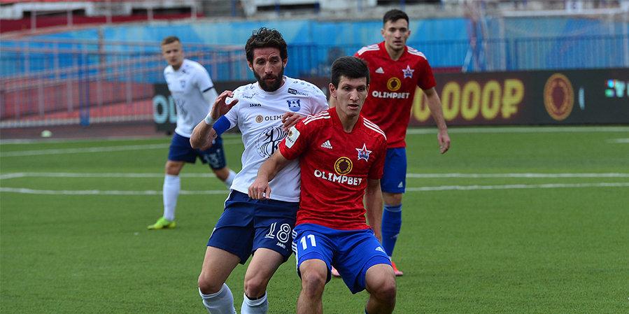 «СКА-Хабаровск» дома уступил «Балтике». Хозяева доигрывали матч с защитником в воротах