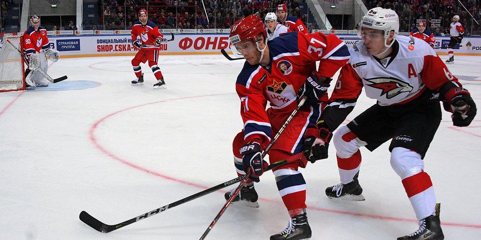 ЦСКА переиграл «Авангард» и довел победную серию до 17 матчей. Видео