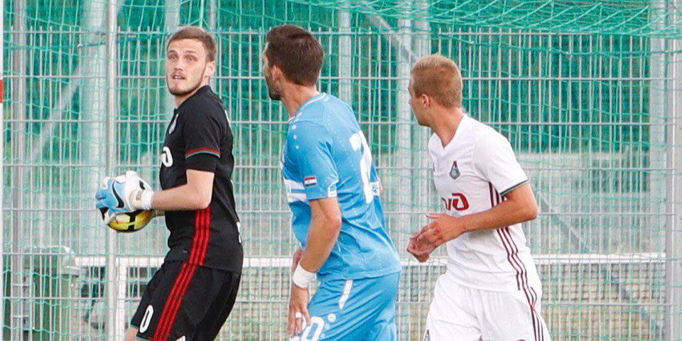 Медведев пропускает первый гол в «Локомотиве»