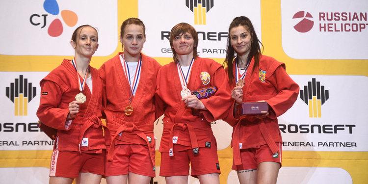 Сборная России победила в медальном зачете на чемпионате мира по самбо