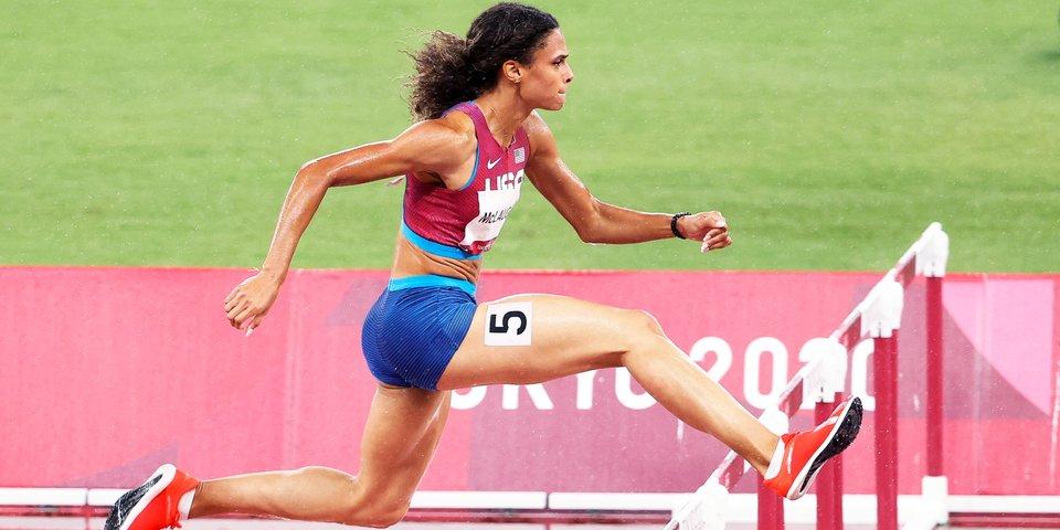 Маклафлин с мировым рекордом завоевала золото Олимпиады в беге на 400 метров с барьерами