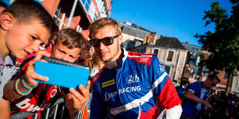 Сироткин присоединится к команде SMP Racing в чемпионате мира по гонкам на выносливость