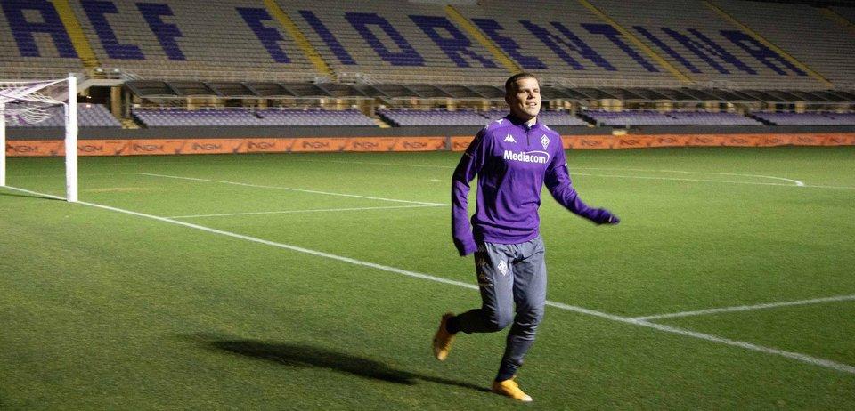 Кокорин будет претендовать на место в основе «Фиорентины». В FIFA 21 он сильнее большинства конкурентов