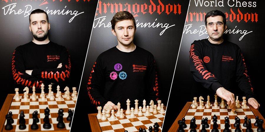 Уникальный шахматный турнир «Армагеддон-2019» завершился победой Карякина. Графика с пульсом и 50 тысяч долларов. Как это было