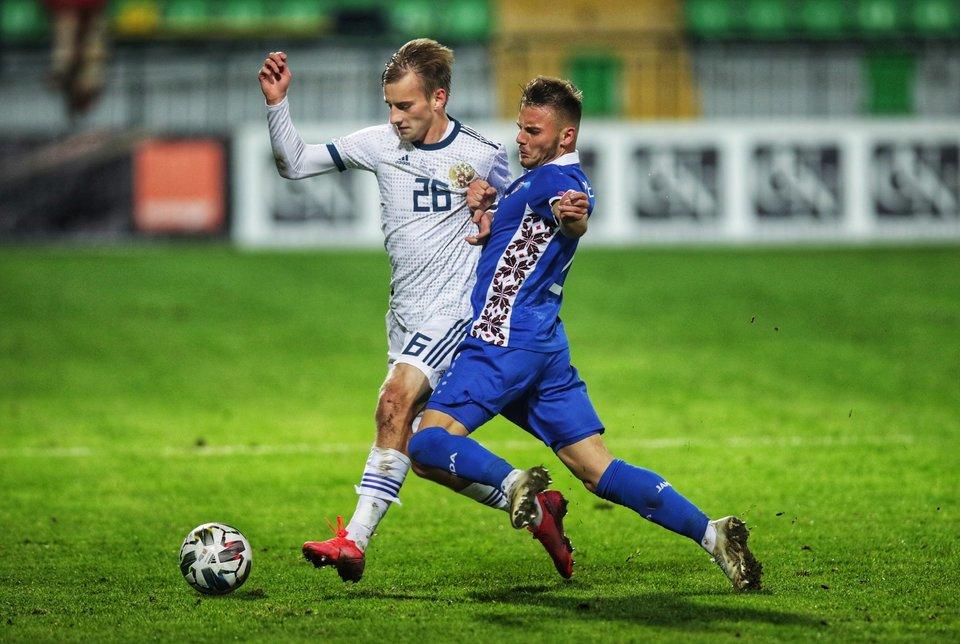 Защитник сборной Молдавии Рябчук перешел в «Олимпиакос»
