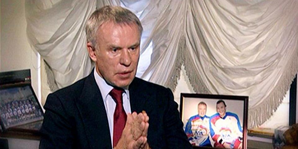 Вячеслав Фетисов: «Здорово, что «Матч ТВ» создает наши фильмы о спорте»