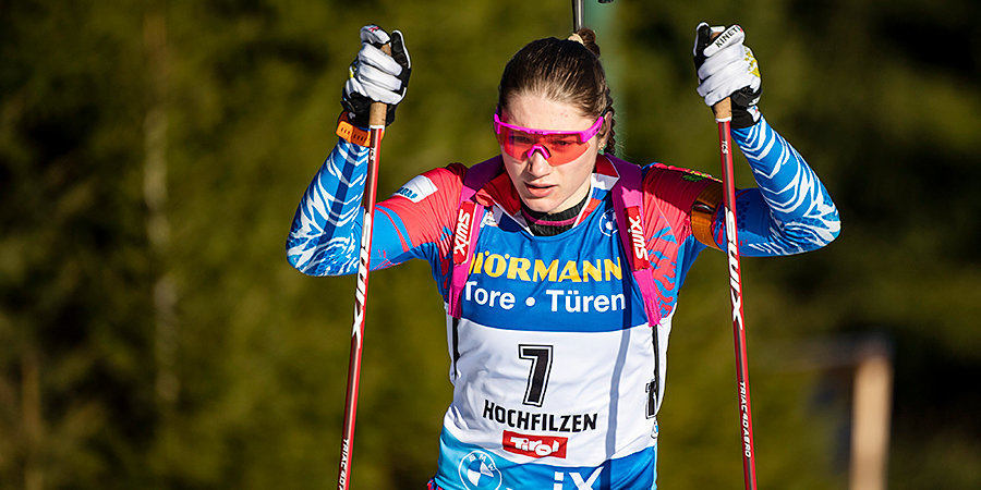 Казакевич выиграла спринт на ЧР по летнему биатлону