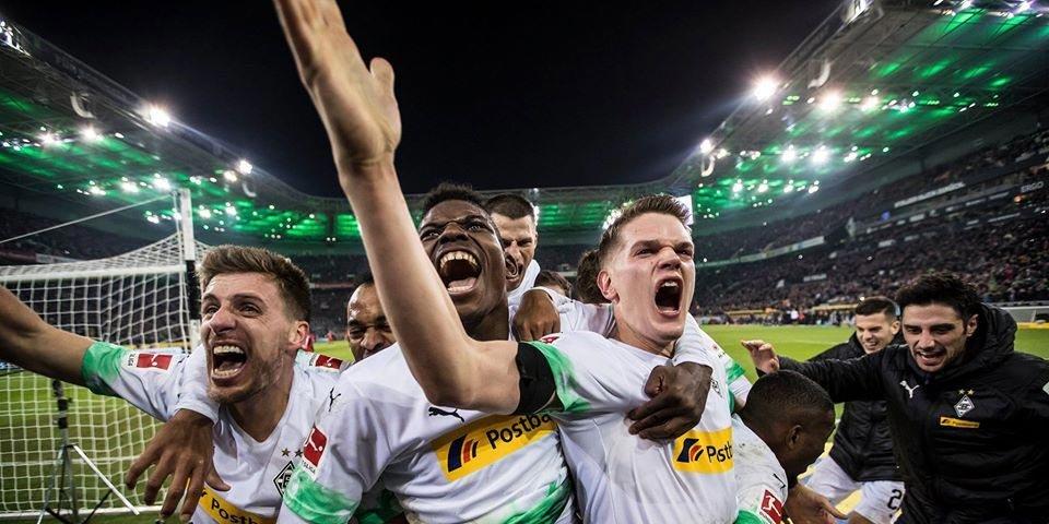 Менхенгладбахская «Боруссия» собрала на стадионе 13 000 зрителей из картона