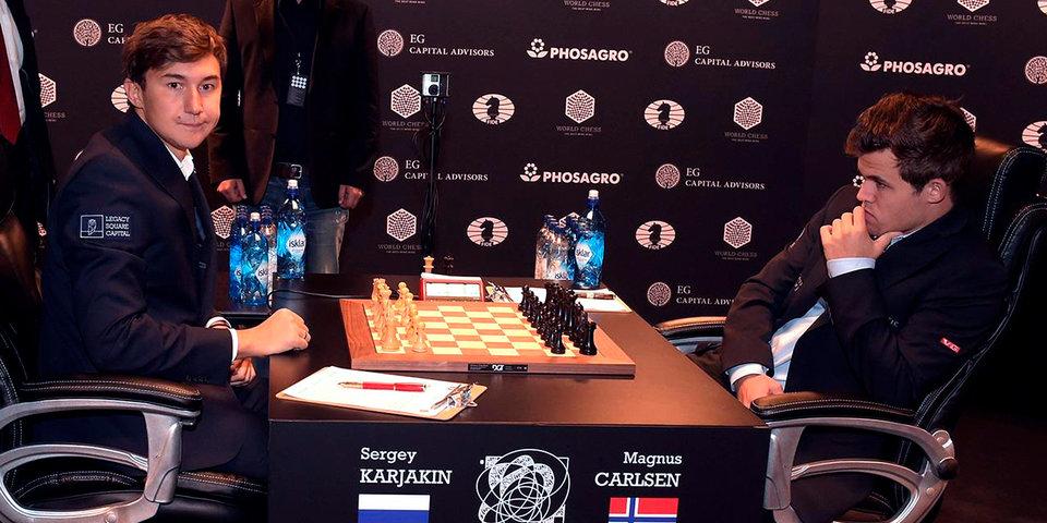 Карякин уступил Карлсену на супертурнире в Ставангере