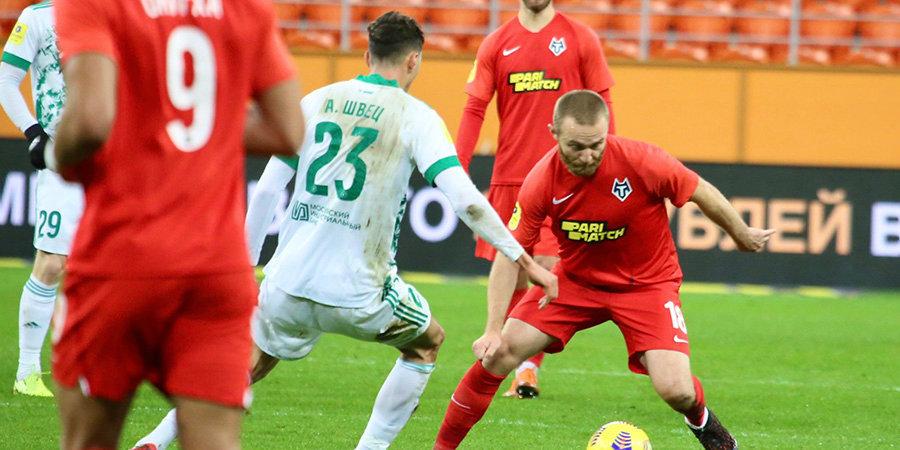 «Ахмат» дожал «Тамбов» в Саранске. Команда Талалаева одержала третью победу подряд
