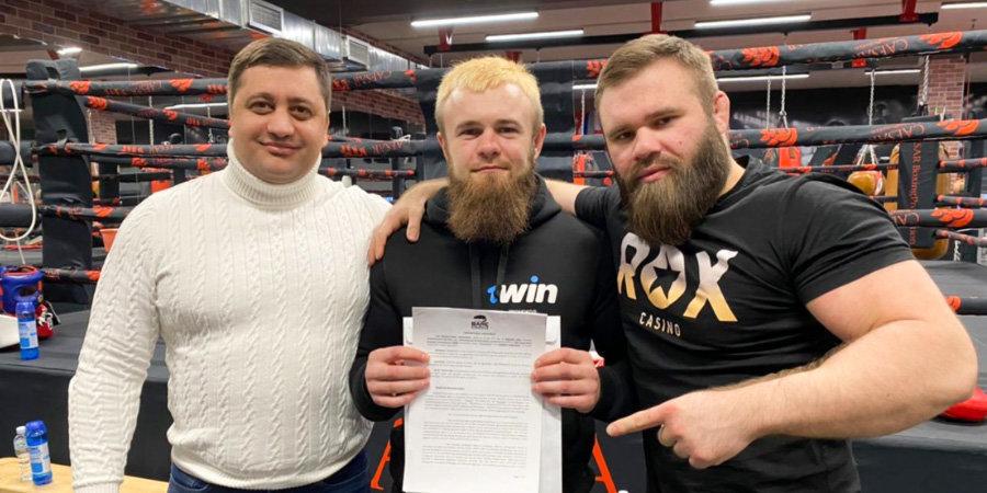 Российский кулачный боец подписал контракт с американской лигой