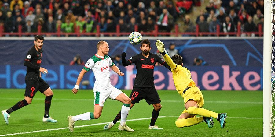 Крыховяк мог спасти «Локомотив», но круто сыграл Облак. Команда Семина посыпалась во втором тайме с «Атлетико» (видео)
