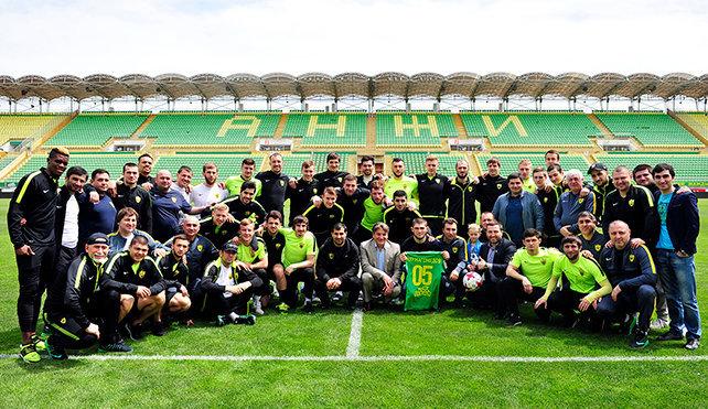 «Анжи» попросил ЦСКА перенести матч из Каспийска в Москву