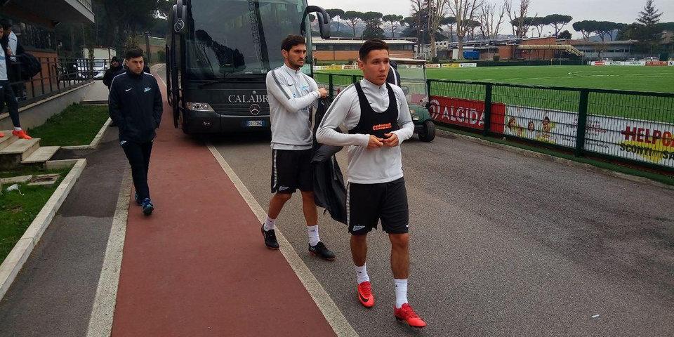 Оздоев и Набиуллин тренируются с «Зенитом» в Риме