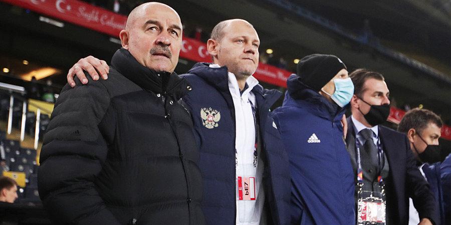 Исполком РФС признал результаты сборной России в 2020 году неудовлетворительными