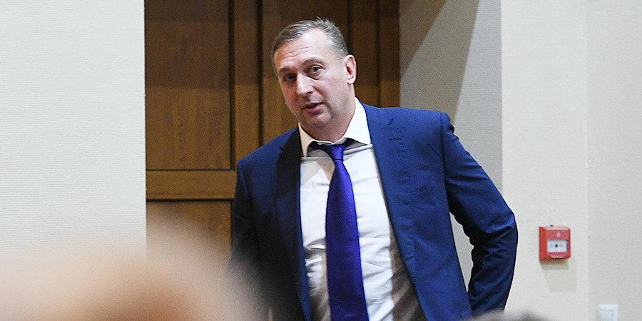 Суд арестовал президента трех спортивных федераций Власенко