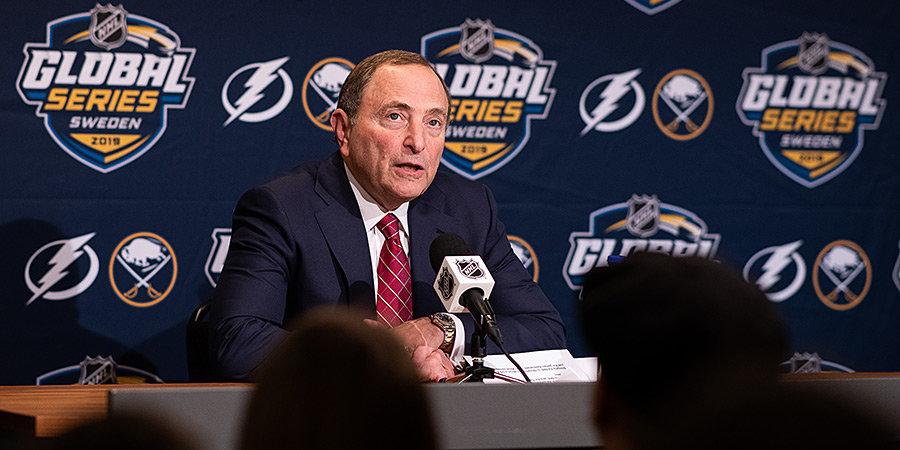 Когда НХЛ приедет с матчами в Россию? И сыграет ли Овечкин в Москве? Отвечает комиссар лиги Гари Бэттмен