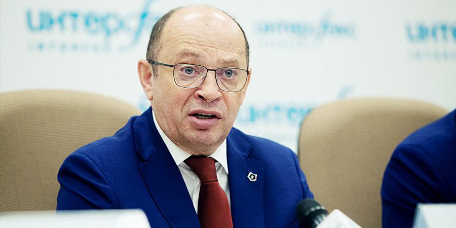 Сергей Прядкин: «Хотелось бы ограничить резкие высказывания о судействе в публичном пространстве»