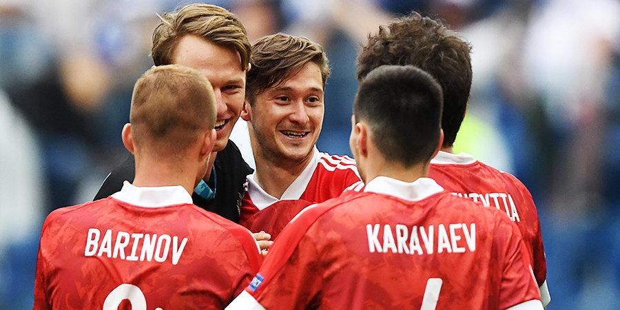 Алексей Миранчук прибыл в расположение сборной России