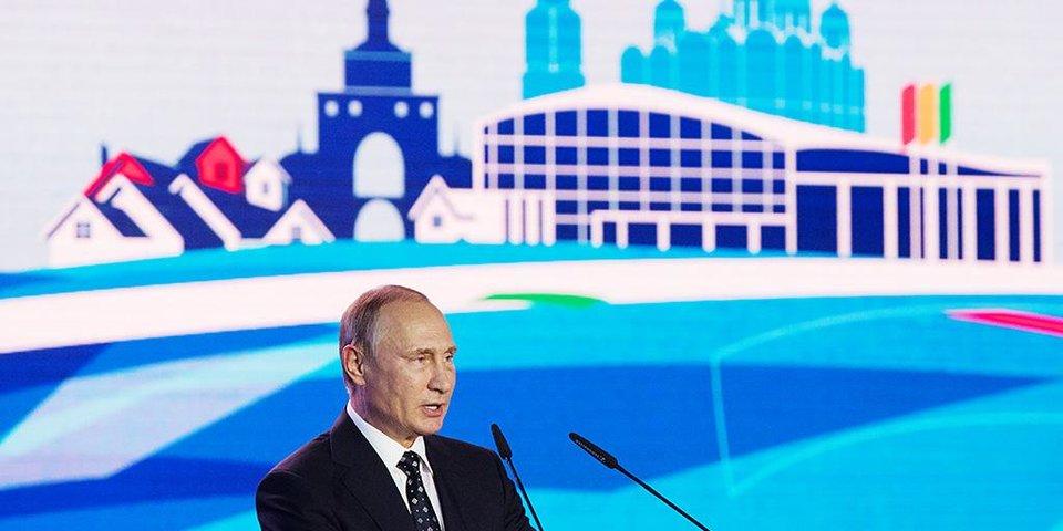 Жуков покинет пост президента ОКР. Главные тезисы Путина на форуме «Россия — спортивная держава»
