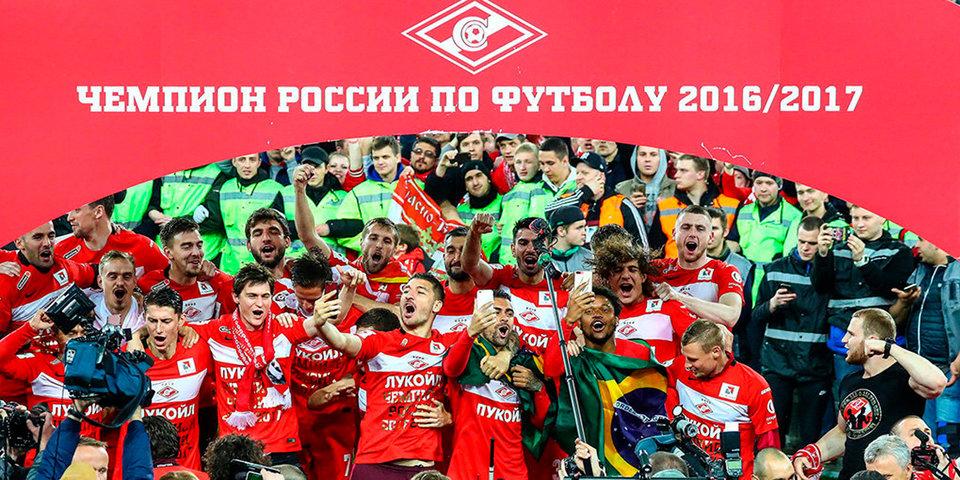 Спортивные журналисты назвали «Спартак» лучшей командой года, Семина – лучшим тренером
