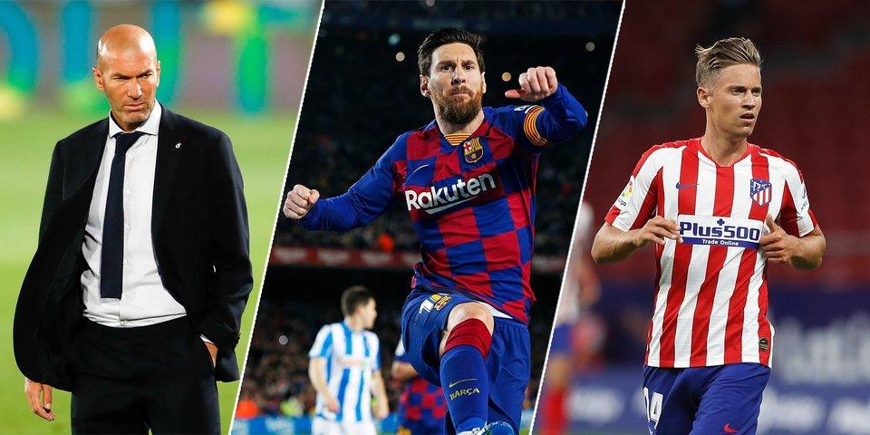 Триумф Зидана, восстание басков и бардак в «Барселоне». Что нужно знать о сезоне Ла Лиги