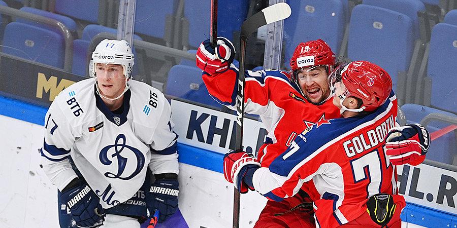 Голдобин снова забивает, Шарыченков делает «сухарь». ЦСКА доминирует и в дерби, и в чемпионате