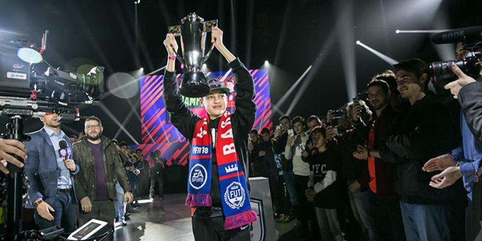 16-летний киберспортсмен стал победителем турнира по FIFA 18 в Барселоне и выиграл 22 тысячи долларов