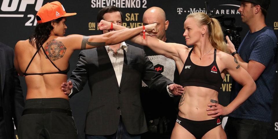 «У меня были соперницы тяжелее 80 кг». «Матч ТВ» говорит с Валентиной Шевченко за сутки до боя