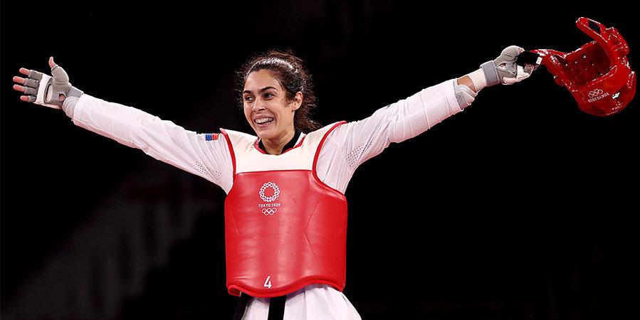 Мандич завоевала золото в тхэквондо на Олимпиаде в Токио