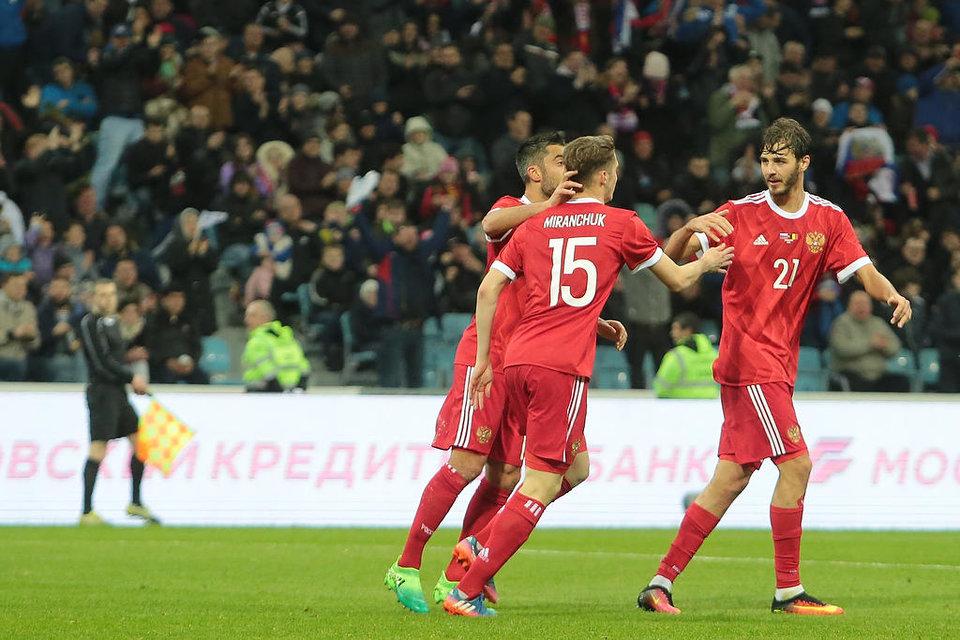 Игры сборной России с Венгрией и Чили «Матч ТВ» покажет в прямом эфире